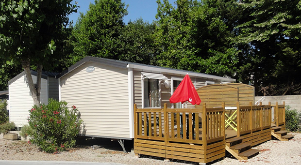Camping Douce France - Mobil home for rent in Antibes
